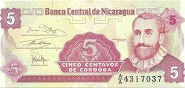 NICARAGUA-- 25--5-- CENTAVOS - Nicaragua
