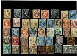 Francia ,usati ,42 Esemplari Di Grande Qualita ,oltre 1000 Euro Di Catalogo - France