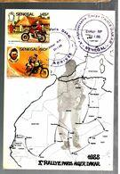 34951 - PARIS DAKAR  88 - Motorräder