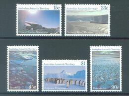 AAT - YEAR 1985 - MNH/*** LUXE -  COMPLETE SET LANDSCAPE - Yv  68-72  - Lot 21866 - Australian Antarctic Territory (AAT)