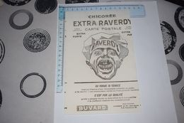 Buvard Raverdy Chicorée Extra Erreur De Découpe Décalée - Koffie En Thee