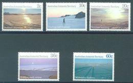 AAT - YEAR 1987 - MNH/*** LUXE -  COMPLETE SET LANDSCAPE - Yv  74-78  - Lot 21867 - Australian Antarctic Territory (AAT)
