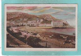 Small Post Card Of Promenade, Llandudno, Conwy,Wales,S109. - Autres