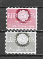België 1960 Y&T Nr° 1150/51 (**) - Unused Stamps