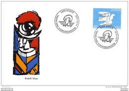 """137 - 19 - Enveloppe Avec Oblit Spéciale """"Tagung Ehem. Schweizergardisten Baden 1995"""" - Marcophilie"""