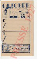2 Vues Publicité 1927 Gants Watremez Vibraye Vendôme Couverts Etrilles Etoile Stella Humour élève Cancre Ecole 232CH4 - Old Paper