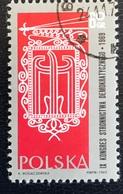 Polska - Poland - P1/19 - (°)used - 1969 - 9e Congres Democratische Partij - Michel Nr.1906 - 1944-.... Republik