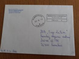 Lithuania Litauen Cover Sent From Pakruojis To Siauliai 2012 - Lithuania