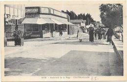 CHATELAILLON : BOULEVARD DE LA PLAGE - Châtelaillon-Plage