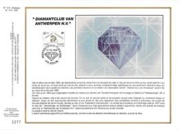 Feuillet Tirage Limité CEF 631 2447 Diamantclub Van Antwerpen N.V. Diamant Zellik - Feuillets