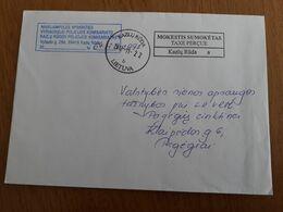 Lithuania Litauen Cover Sent From Kazlu Ruda To Pagegiai 2012 - Lithuania