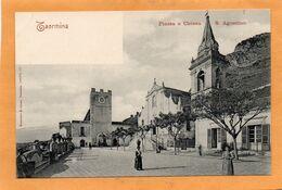 Taormina Sicili Italy 1900 Postcard - Altre Città