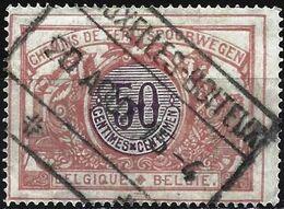 Belgium 1902 - Mi E34 - YT Cp 34 ( Railway Stamp ) - Railway