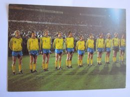 Sports Sport World Cup 1978 Sverige Football Suède Tampon Taxe - Sonstige