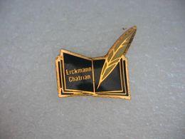 Pin's Erckmann-Chatrian, écrivain Francais - Pins