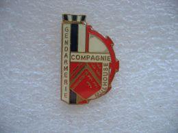 Pin's De La Compagnie De Gendarmerie De La Ville De Mulhouse - Police