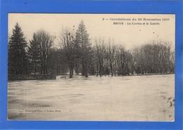 19 CORREZE - BRIVE Inondations 1910, La Corrèze Et La Guierie - Brive La Gaillarde