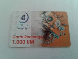 MAURITANIA - Nice Phonecard - Telefoonkaarten