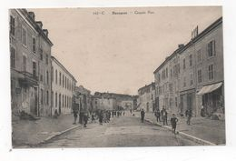 Cpa 54 BACCARAT Grande Rue Avant Bombardements - Baccarat