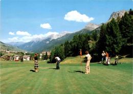 Bad Tarasp-Vulpera - Golf Mit Ferienzenter Vulpera (2523) * 26. 7. 1981 - GR Grisons