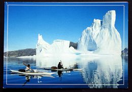 Greenland  Cards  Kayaker In Greenland( Lot 201 ) - Greenland