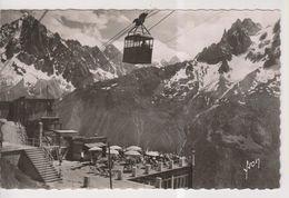CPSM-74-Haute Savoie- CHAMONIX-MONT-BLAN?C- Terrasse Du Pavillon De PLAN-PRAZ-... - Chamonix-Mont-Blanc