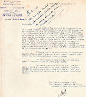 """Document -    Etat Français - """" Secrétariat D'Etat à La Défense- VICHY """"- - Documenti"""