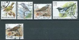 België OBP Nr. 2985 - 2988 + 2987 Fuor Gestempeld / Oblitérés - Vogels Met Dubbele Waarde Aanduiding - Belgique