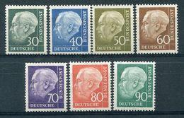 Bund - Michel 259-265 Pfr.** - Unused Stamps