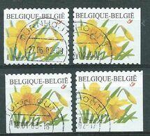 België OBP Nr. 3046 - 3046c Gestempeld / Oblitéré - Trompetnarcis - Belgique