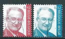 België OBP Nr. 3050 - 3051 Gestempeld / Oblitérés - Koning Albert II - Belgique