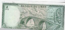 LIBAN / 5 LIVRES / NEUF - Liban
