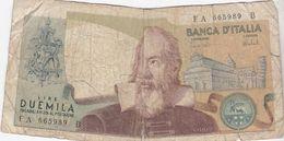 """Italië / 2000 Lire / 1973 / """"Galileo"""" - 2000 Lire"""