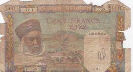 ALGERIE 100 FRANCS 1945 - Algerien