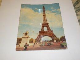 CARTE MUSICALE PARIS TOUR EIFFEL ZON ZON ZON - Vinyl Records