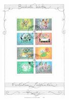 Liechtenstein, Nr. 1416/23, Gest. Kleinbogen (C 22) - Blocks & Sheetlets & Panes