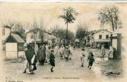 ALGERIE - Alma : Rue Principale - Autres Villes