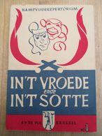 Scouts Kampvuurrepertorium  In't Vroede In't Sotte  De Pijl Brussel - Libri, Riviste, Fumetti