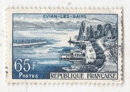 Timbre Evian Les Bains YT N° 1131 (1957 - Usati