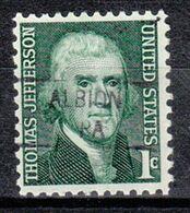 USA Precancel Vorausentwertung Preo, Locals Pennsylvania, Albion 841 - Estados Unidos