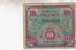 France - Billet De 10 Francs - Emission Alliés - Série 1944 - 1944 Vlag/Frankrijk