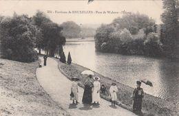 Environs De BRUXELLES, Parc De La Woluwe, L'étang - Foreste, Parchi, Giardini