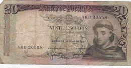 PORTUGAL 20 ESCUDOS 1964 - Portugal