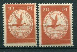 Deutsches Reich Flugpost - Michel I/II Ungebr.*/MH - Airmail