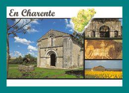 16 En Charente ( Multivues, Carte Géographique, Map, église Puits ) - Unclassified
