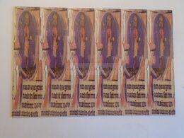 D172678 Carte Postale Stéréogramme - Livre, Codex Leaf - Initiale St. Stephen  -  Békéscsaba Hungary - Stereoskopie