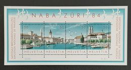 """SUISSE    Exposition Philatélique """"Naba Züri 84""""     N° Y&T  BF24  ** - Blocchi & Foglietti"""