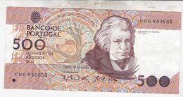 PORTUGAL 500 ESCUDOS 1993 / TBBE - Portugal