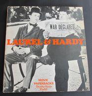 LAUREL & HARDY - FILM MOVIE MAGAZINE  PAPERBACKS PHOTOCONDUCTOR STUDIO VISTA, Year 1967 - Divertimento