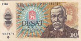 Billets Tchécoslovaquie - 10 Desat Korun 1986 / NEUF - Czechoslovakia